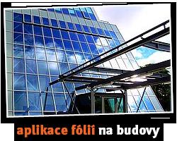 aplikace fólií na budovy